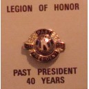 "Kit Diplome + insigne ""Legion of Honor"""
