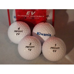 Balles de golf PRECEPT par 4