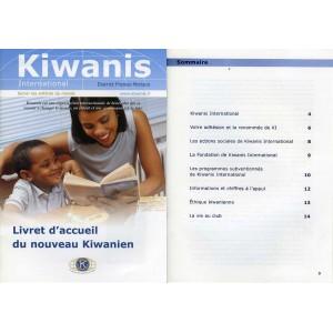 Livret d'acceuil du nouveau Kiwanien