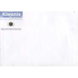 """Enveloppe  """" Kiwanis """"    A5"""