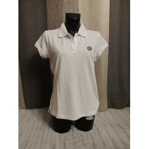 POLO DAME BLANC TAILLE M
