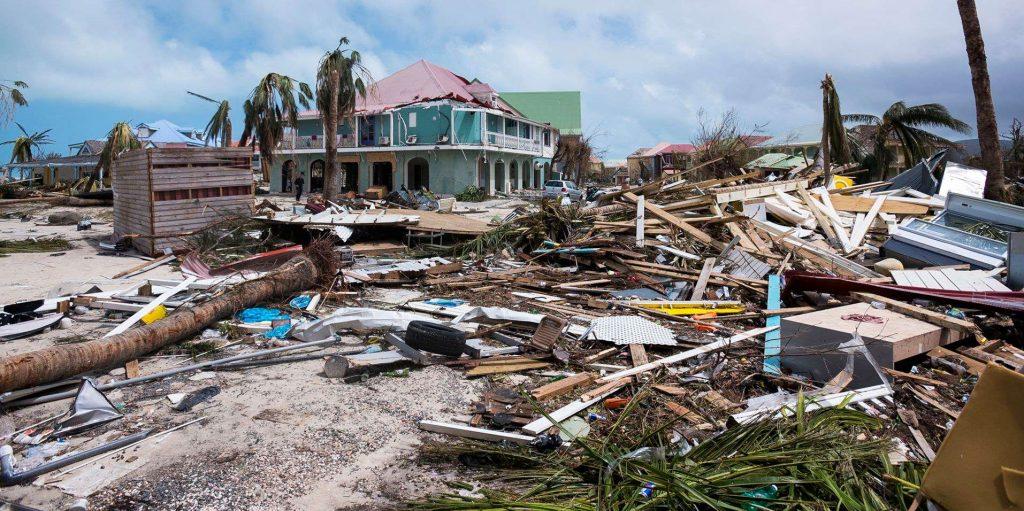 Ouragan 2017 St Martin St Barthelemy