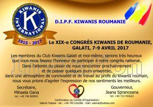 INVITATION CONGRES KIWANIS 2017 - FR