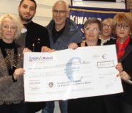 remise cheque Hand Ensemble