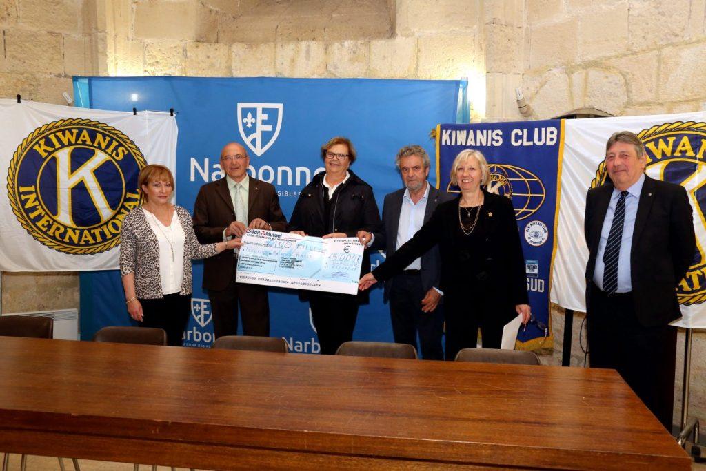 CHEQUE DE 5000 € recherche sur les Maladies Rares