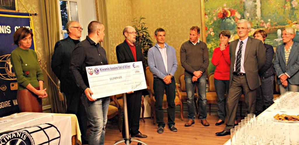 Yssoirienne (2) 21 500 € remis
