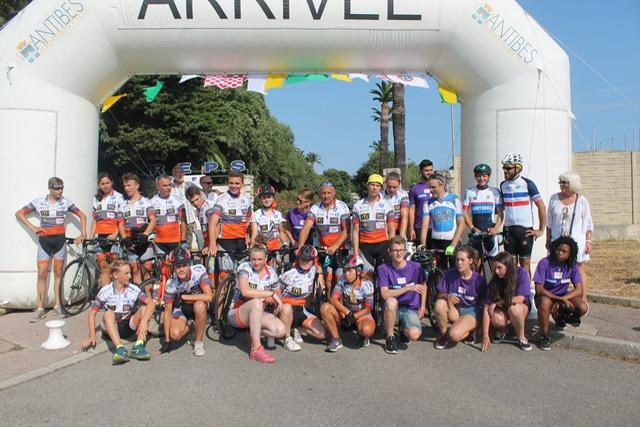 jeunes cyclistes d'Abbeville